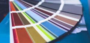 Custom paint swatches
