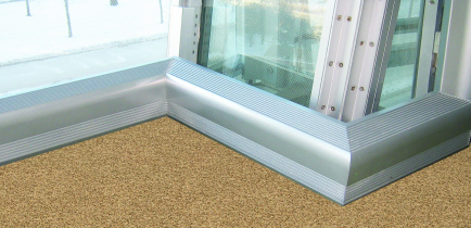 Marley custom convector cut and mitered for installation at the Spertus Institute of Jewish Studies, Chicago, Illinois